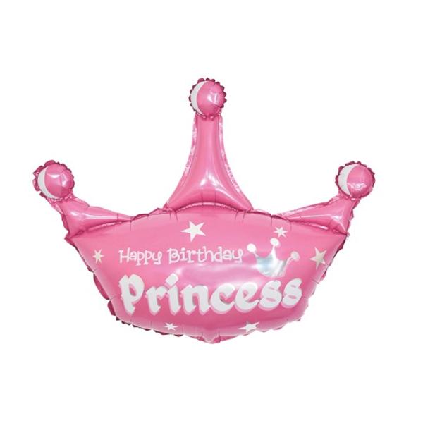 Bilde av Prinsesse Krone Folieballong Sett