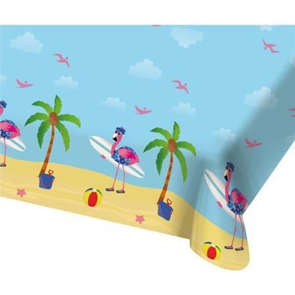 Bilde av Flamingo På Ferie, Duk 180X130 cm