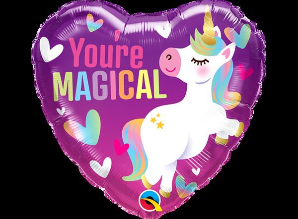 Bilde av You're Magical - Unicorn Folieballong - 46cm