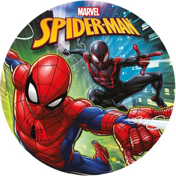 Bilde av Spiderman, Kakebilde 2 , Sukkerpasta, 20 cm