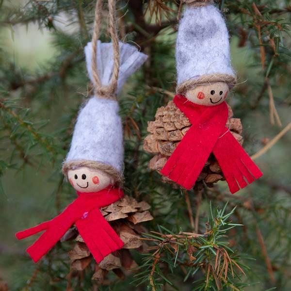 Bilde av Hobbypakke Jul- Små Konglenisser