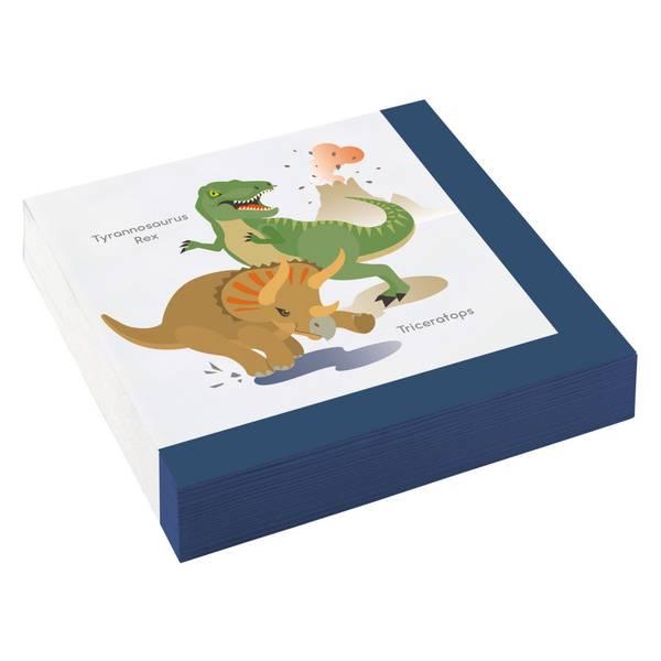 Bilde av Dinosaur Servietter 3, 20 stk