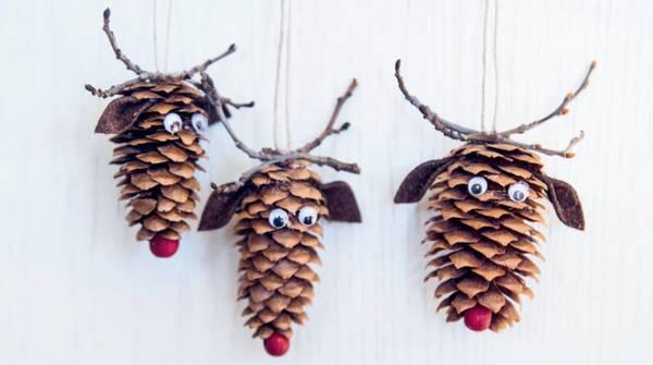 Bilde av Hobbypakke Jul- Konglereinsdyr 3 stk