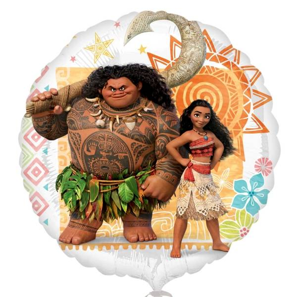 Bilde av Vaiana og Maoui, Folieballong, 43cm