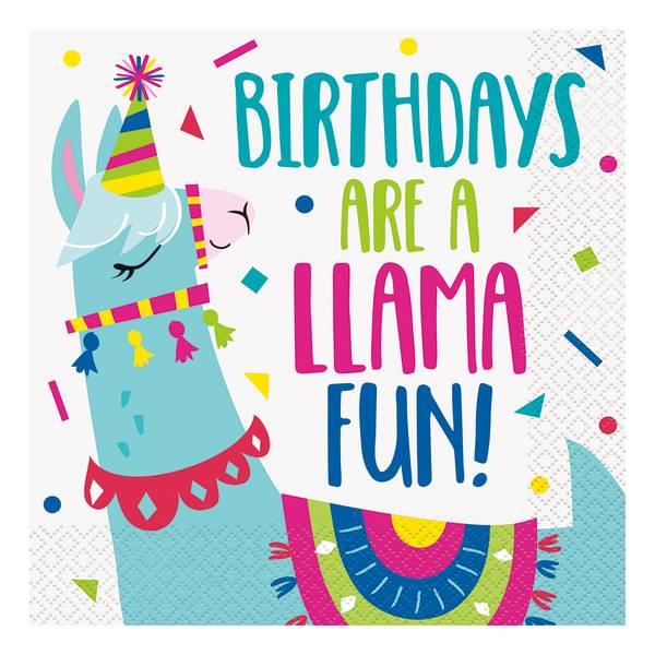 Bilde av Party Llama Servietter