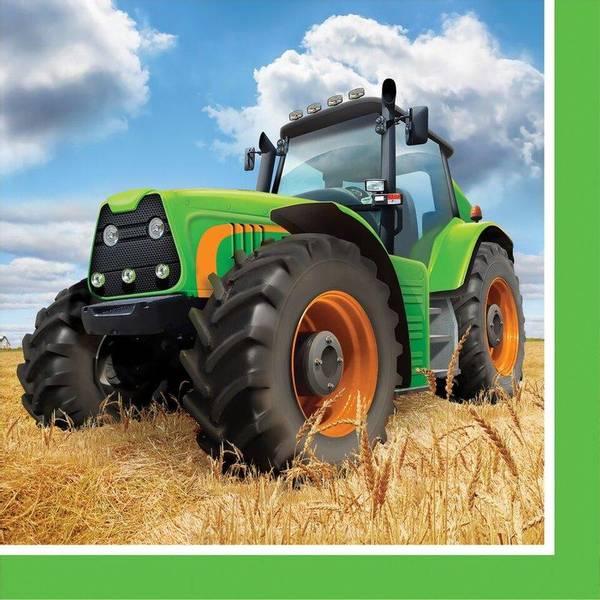 Bilde av Traktor, Servietter, 16 stk