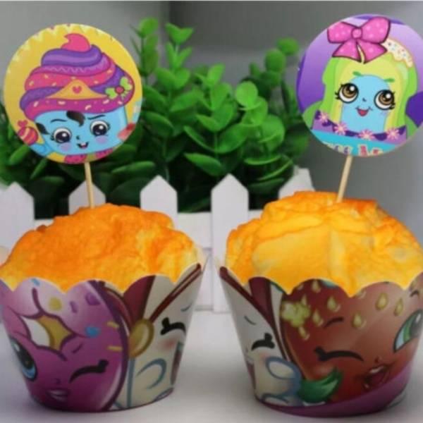 Bilde av Shopkins Cupcake Wrappers, 12stk