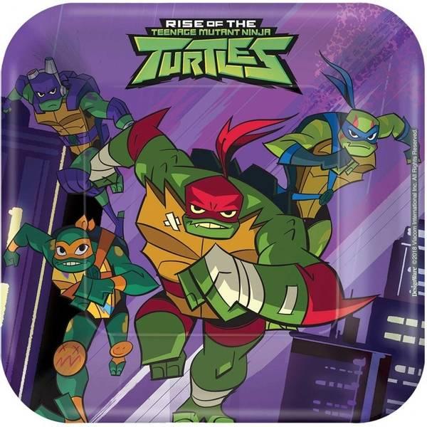 Bilde av Rise of The Ninja Turtles, Asjetter Firkantet