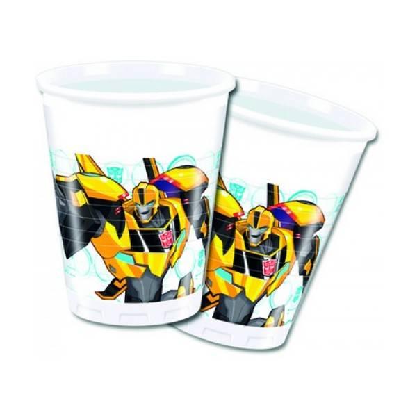 Bilde av Transformers Plastkopper, 8 stk