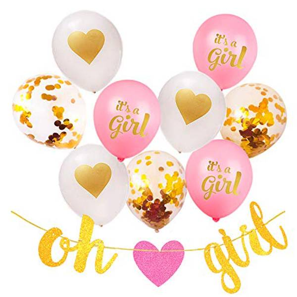 Bilde av Oh Girl Gull Glitter Banner!