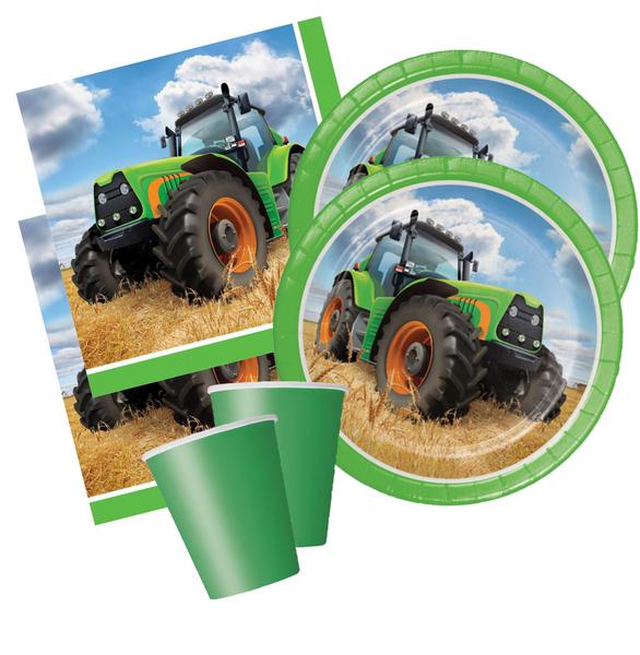 Bilde av Traktor, Basis, Bursdagspakke, 16 personer