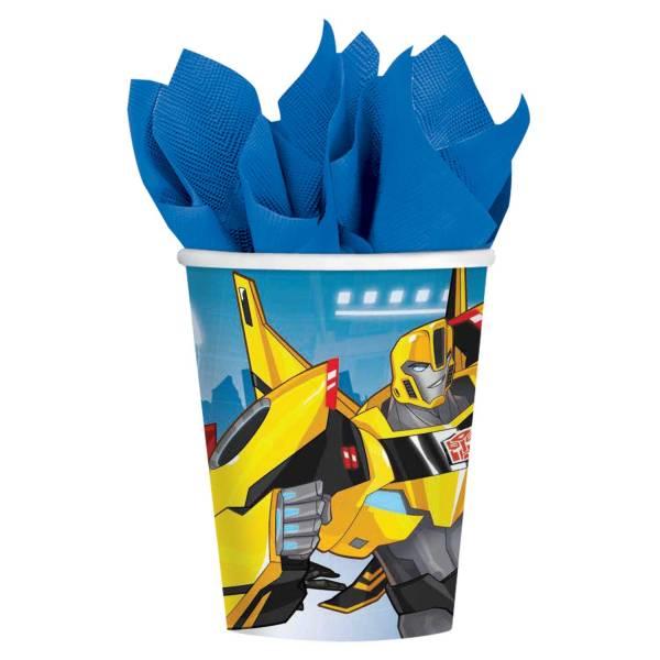 Bilde av Transformers Pappkopper, 8 stk