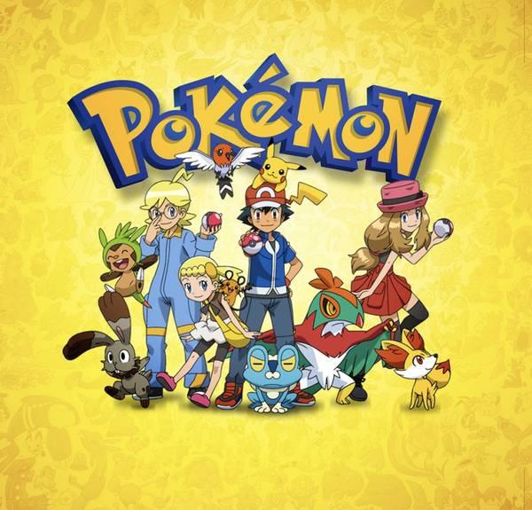Bilde av Pokemongjengen, Kakebilde, 20*20cm