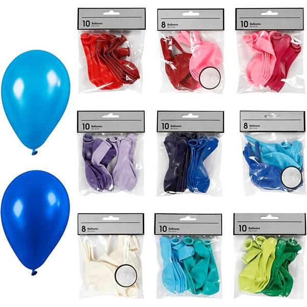 Bilde av Mix & Match Ballonger, 8 farger