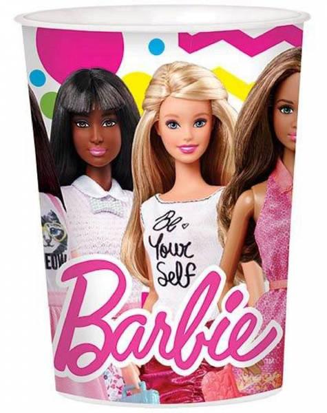 Bilde av Barbie Plastkopp, 473ml