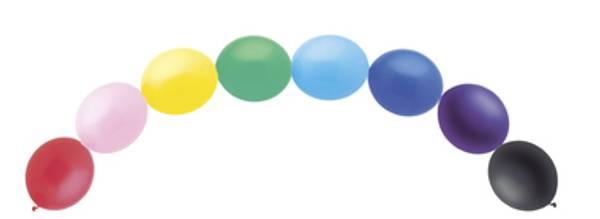 Bilde av Fargeriket ballong banner/ bue
