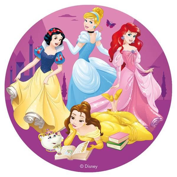Bilde av Disney Prinsesse, Kakebilde 4, Sukkerpapir, 20cm