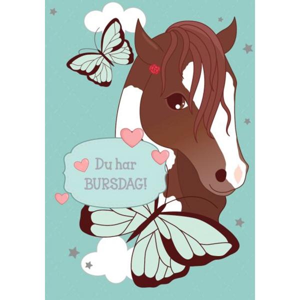 Bilde av Mini Kort, Hest, Du Har Bursdag!
