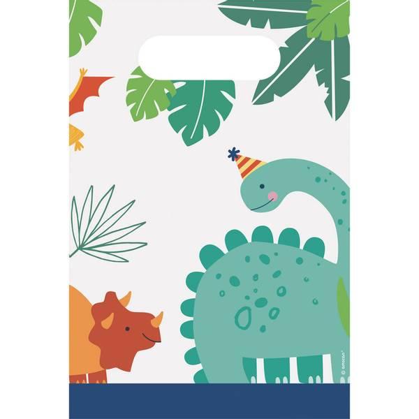 Bilde av Dino-Mite, Papirposer, 8 stk
