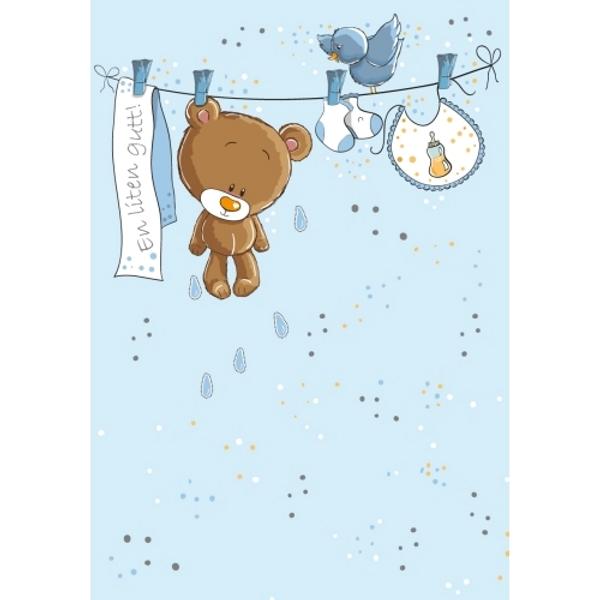 Bilde av Mini Kort, Nyflødt, En liten gutt
