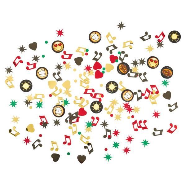 Bilde av Emoji Smiley Konfetti