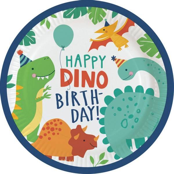 Bilde av Dino-Mite, Tallerker,  8 stk