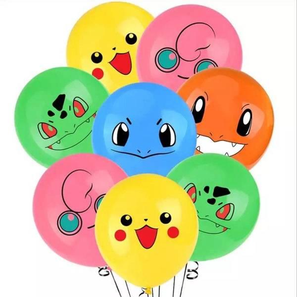 Bilde av Pokemon Ballonger, 10 stk