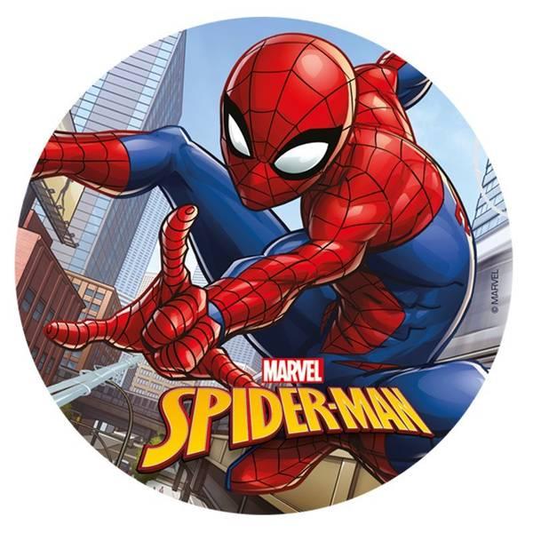 Bilde av Spiderman, Kakebilde, Sukkerpapir ,20 cm