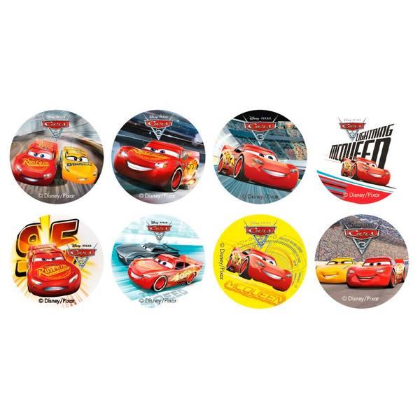 Bilde av Cars, Muffinsbilder, 16 stk