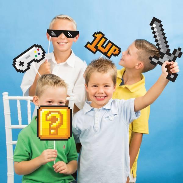 Bilde av Gamer, Photoprops, 10 stk