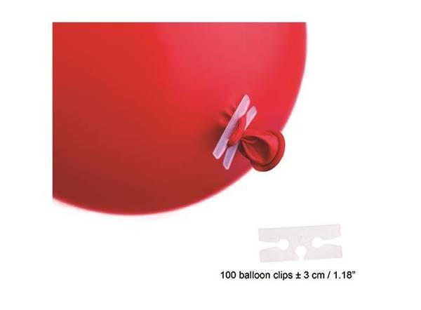 Bilde av Ballongklips, 100stk