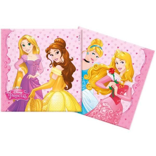 Bilde av Disney Prinsesse 2, Servietter, 20stk