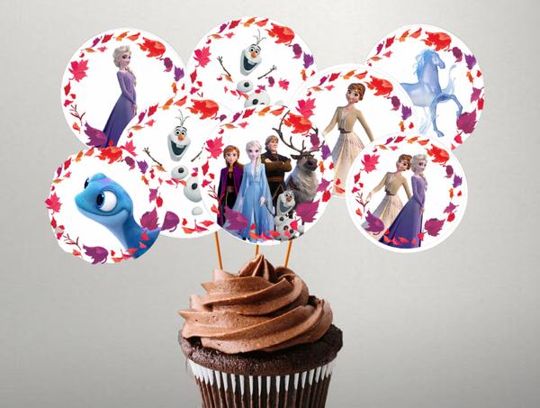 Bilde av Frost 2 Cupcake topper, 8 stk