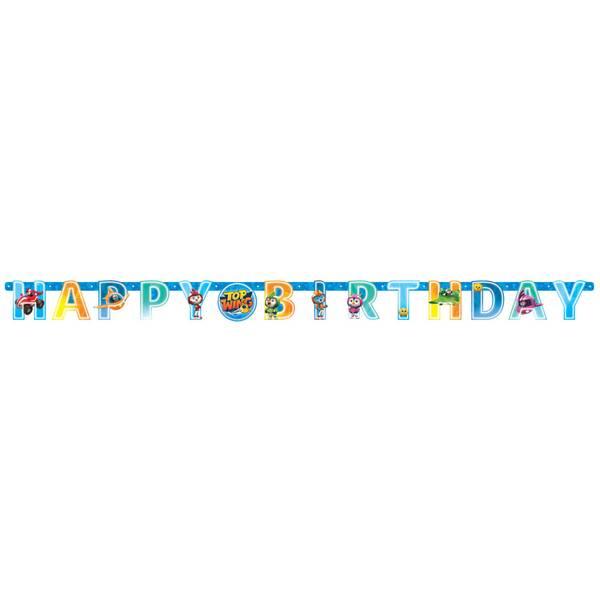Bilde av Top Wing, Banner, Happy Birthday
