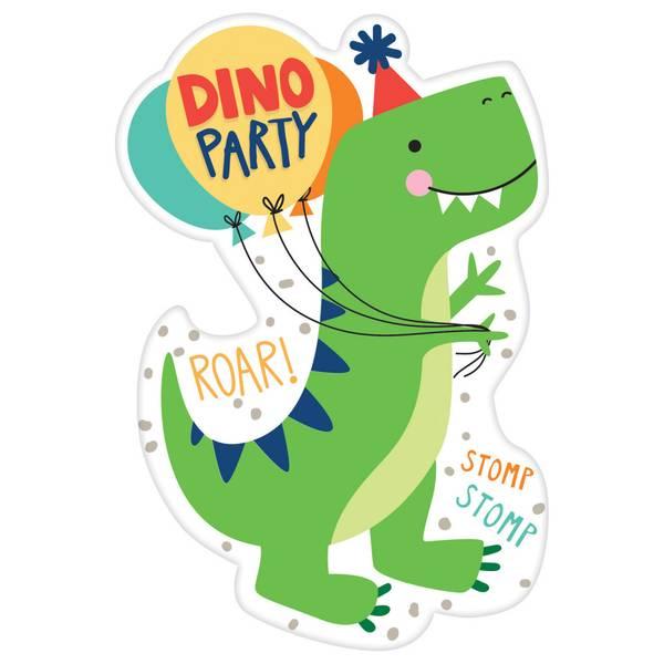 Bilde av Dino-Mite, Innbydelser, 8 stk