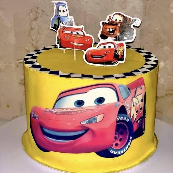 Bilde av Cars Cupcake Toppers, 12 stk