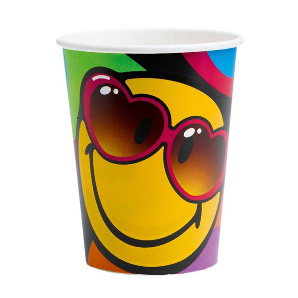 Bilde av Emoji Smiley Kopper, 8 stk