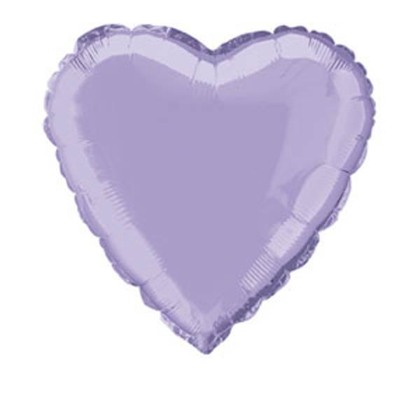 Bilde av Lavendel Hjerte Folieballong