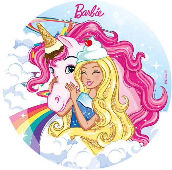 Bilde av Barbie Kakebilde 1, 20 cm