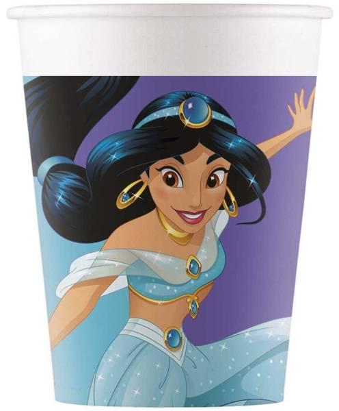 Bilde av Disney Prinsesse, Kopper, 8 stk