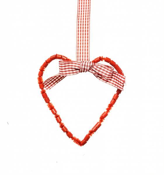 Bilde av Hobbypakke, Jul, Rød Perlekrans