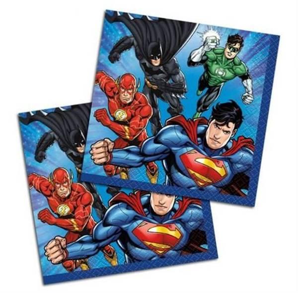 Bilde av Justice League Cafeservietter