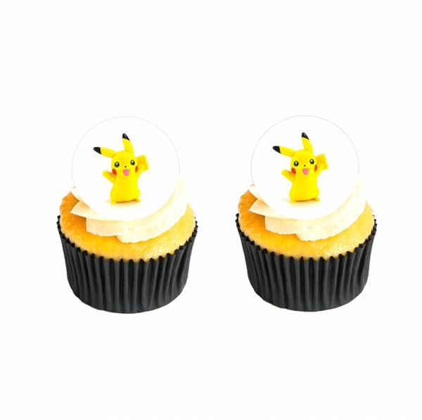 Bilde av Pikachu, Muffinsbilder, 12 stk