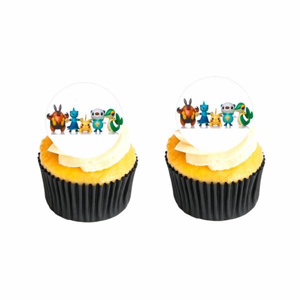Bilde av Pokemon, Muffinsbilder, 12 stk