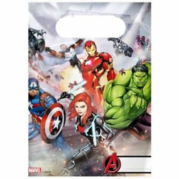 Bilde av Avengers Godteposer, 6 stk