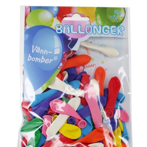 Bilde av Vannballonger 90 stk