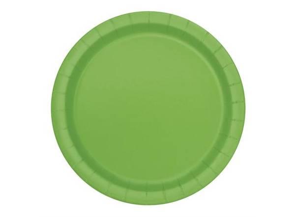 Bilde av Limegrønne Asjetter, 8stk