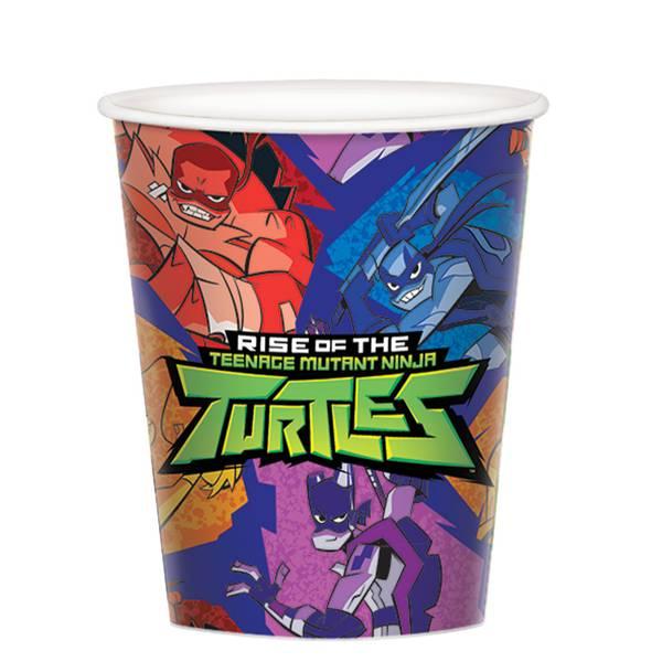 Bilde av Rise of The Ninja Turtles, Kopper 8stk