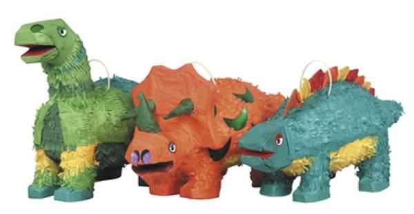 Bilde av Dinosaur Pinatas - 3 typer