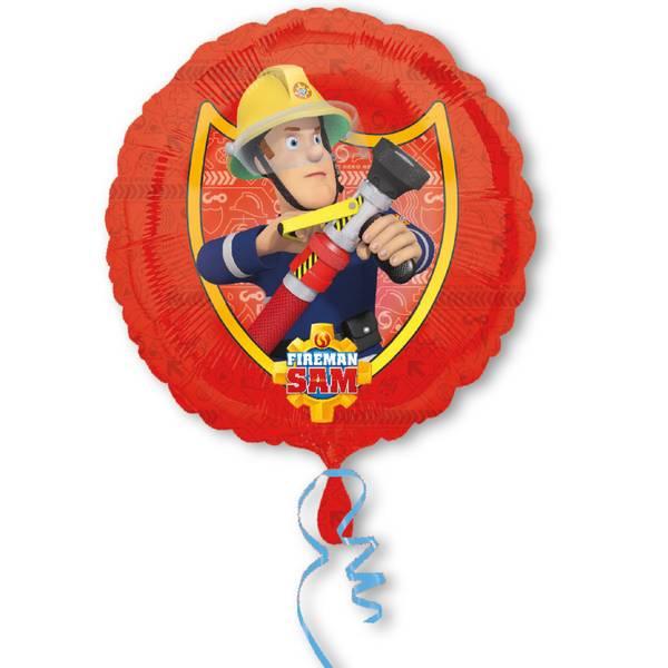 Bilde av Brannmann Sam Folieballong, Rød, 43 cm